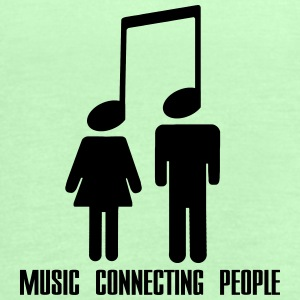 Music Connecting People Torby i plecaki - Tank top damski Bella
