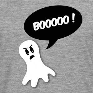 booooo ghost halloween T-Shirts - Men's Premium Longsleeve Shirt