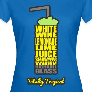 Cocktails, farbenfroh und lecker: Totally Tropical Sacs et sacs à dos - T-shirt Femme