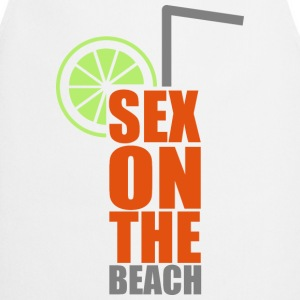 Cocktails, farbenfroh und lecker: Sex on the Beach Buttons & badges - Forklæde