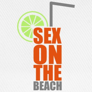 Cocktails, farbenfroh und lecker: Sex on the Beach Buttons & badges - Baseballkasket