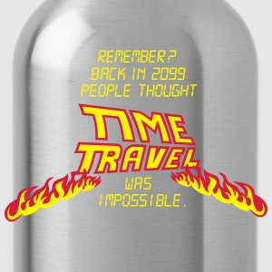 Time Travel T-Shirts - Trinkflasche