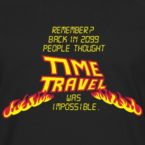 Time Travel T-Shirts - Männer Premium Langarmshirt