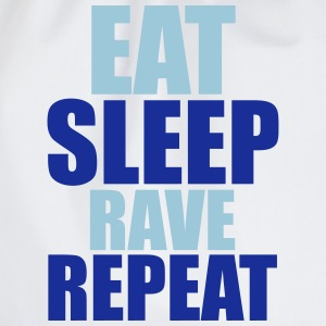Eat Sleep Rave Repeat Magliette - Sacca sportiva