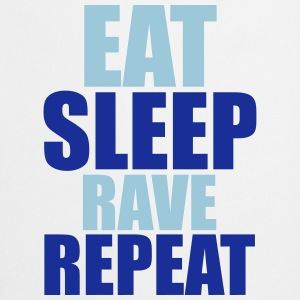Eat Sleep Rave Repeat T-skjorter - Kokkeforkle