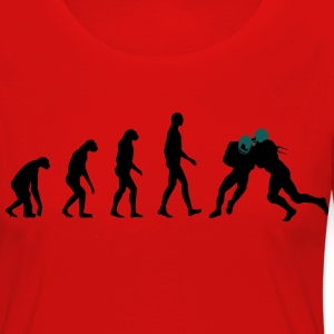 Evolution Football T-Shirts - Women's Premium Longsleeve Shirt