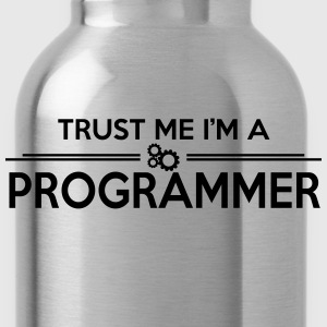 Trust me, I'm a PROGRAMMER T-Shirts - Water Bottle