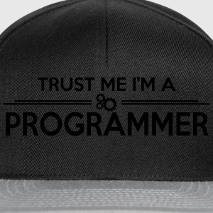 Trust me, I'm a PROGRAMMER Tee shirts - Casquette snapback