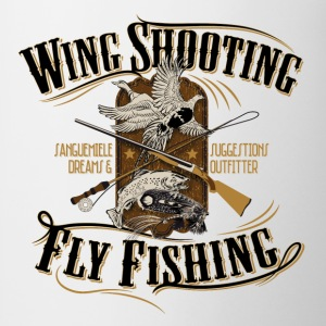 wingshooting_fly_fishing Magliette - Tazza