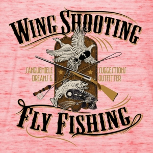 wingshooting_fly_fishing T-Shirts - Women's Tank Top by Bella