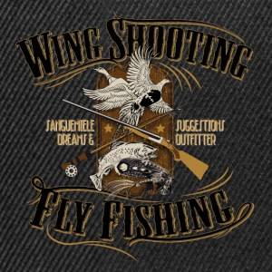 wingshooting_fly_fishing T-Shirts - Snapback Cap