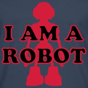 I am a Robot T-Shirts - Men's Premium Longsleeve Shirt