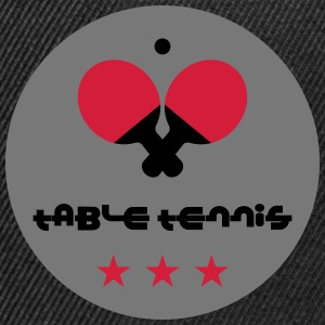 Table Tennis T-Shirts - Snapback Cap