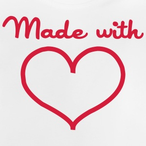 Made with love T-shirts - Baby-T-shirt