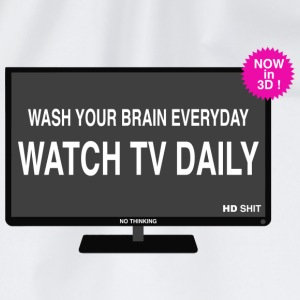 Wash your brain everyday Shirts - Gymtas