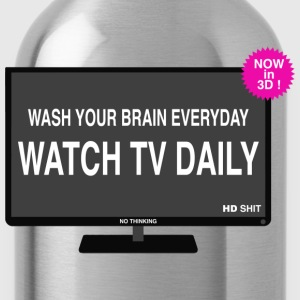 Wash your brain everyday Tee shirts - Gourde