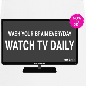 Wash your brain everyday Tee shirts - Tablier de cuisine