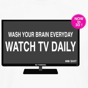 Wash your brain everyday Tee shirts - T-shirt manches longues Premium Homme