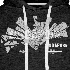 Singapore T-Shirts - Men's Premium Hoodie