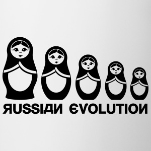 Ryska Matryoshka Evolution  T-shirts - Mugg