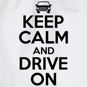 Keep calm and drive on T-Shirts - Drawstring Bag
