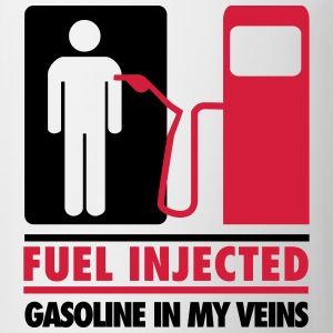 Fuel injected, gasoline in my veins T-Shirts - Mug
