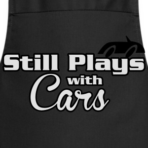 Still plays with cars T-Shirts - Cooking Apron