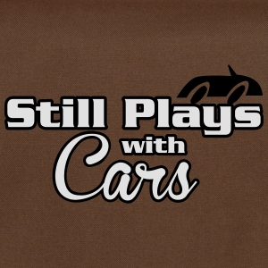 Still plays with cars T-Shirts - Shoulder Bag