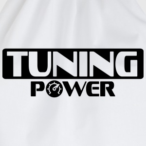 Tuning Power T-Shirts - Turnbeutel