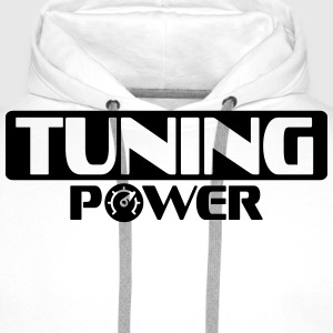 Tuning Power T-skjorter - Premium hettegenser for menn