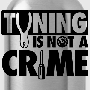 Tuning is not a crime T-Shirts - Water Bottle
