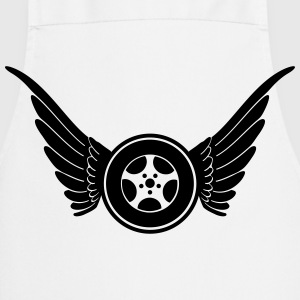 Wheel with wings T-shirts - Keukenschort