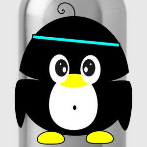sportive penguin Shirts - Drinkfles