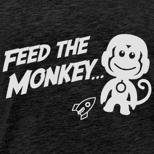 Feed The Monkey Hoodies & Sweatshirts - Men's Premium T-Shirt