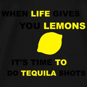Life Gives You Lemons Sweat-shirts - T-shirt Premium Homme