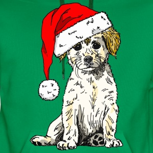 Christmas Doggy Kid's Tee - Men's Premium Hoodie