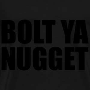 Bolt Ya Nugget Hoodies & Sweatshirts - Men's Premium T-Shirt