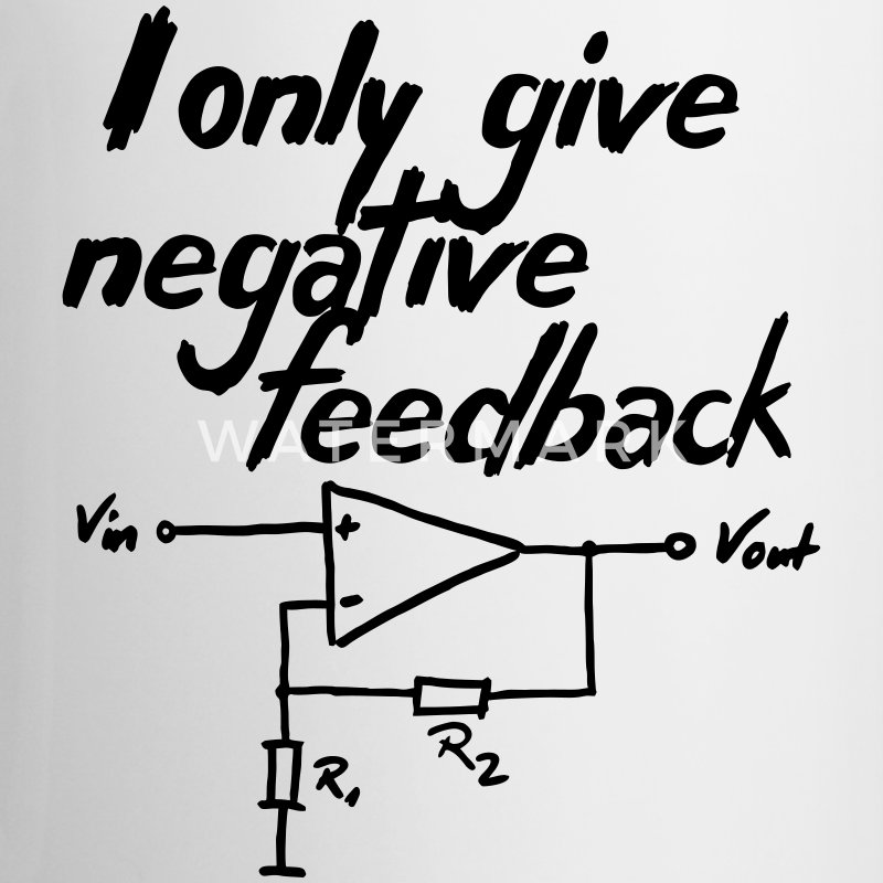 I only give negative feedback V2 - Contrasting Mug