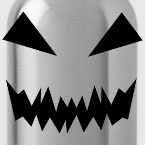 Pumpkin Face T-Shirts - Water Bottle