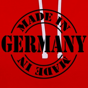 made_in_germany_m1 Langarmshirts - Kontrast-Hoodie