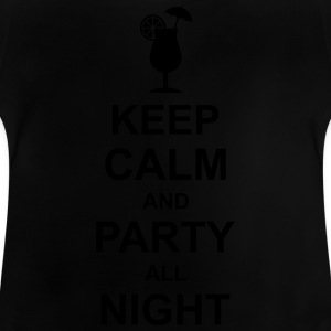 keep_calm_and_party_all_night_2_g1 T-Shirts - Baby T-Shirt