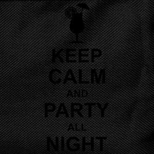 keep_calm_and_party_all_night_2_g1 Pikétröjor - Ryggsäck för barn