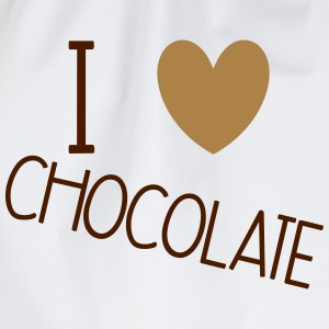 I Love Chocolate T-skjorter - Gymbag