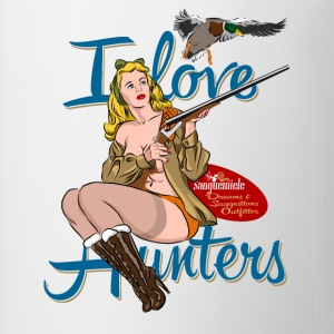 i_love_hunters Tabliers - Tasse