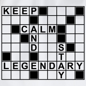 keep_calm_stay_legendary_g1 Tee shirts - Sac de sport léger