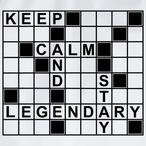 keep_calm_stay_legendary_g1 Magliette - Sacca sportiva