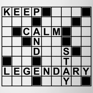 keep_calm_stay_legendary_g1 Camisetas - Taza