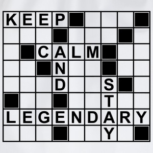 keep_calm_stay_legendary_g1 Skjorter - Gymbag