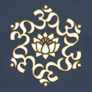 Om Lotus, Buddhism, Yoga, Meditation, spiritual T-Shirts - Men's Premium Longsleeve Shirt