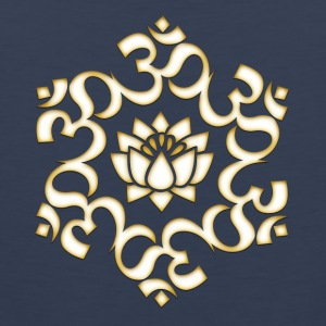 Om Lotus, Buddhism, Yoga, Meditation, spiritual T-Shirts - Men's Premium Tank Top
